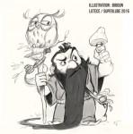 Les premiers dessins pour LUTECE