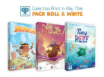 PACK ROLL & WRITE 3 jeux
